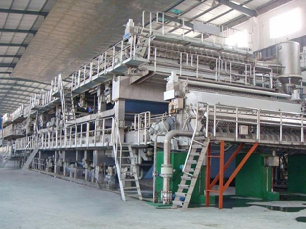 Multi-Cylinder Paper Machine With Stacked Mesh Gear Box