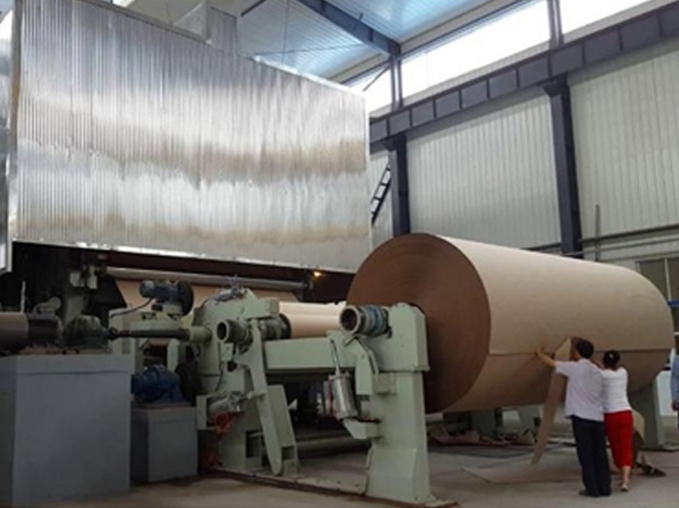 Corrugated Paper, Kraft Paper Machine